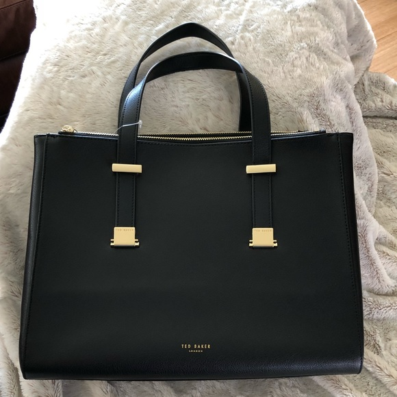 49ac2c8258 Ted Baker Bags | Aminaa Large Adjustable Leather Bagnew | Poshmark